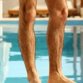 Half Leg Waxing for Men