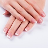 Deluxe Manicure  (remove cuticle, file and paint)