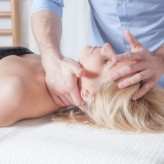 Initial osteopathic treatment and consultation