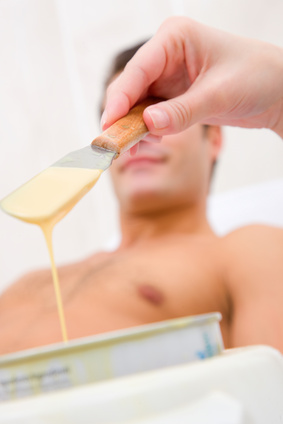 Male waxing in London by professional Brazilian Therapist