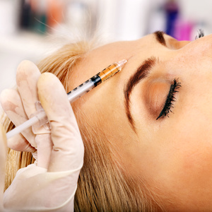 Eight Points facelift with Dermal Fillers and Wrinkles relaxing