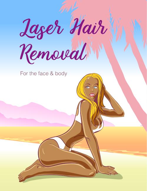 Full leg laser hair removal
