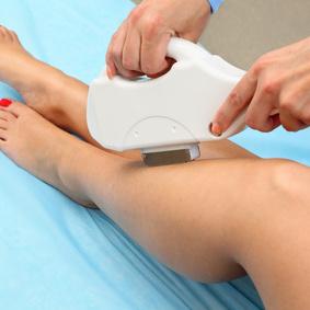 Half leg laser hair removal