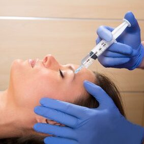 Mesotherapy for eye bags and dark circles correction