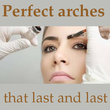 Eyebrows shape and Arch