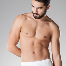 Back and chest waxing for men