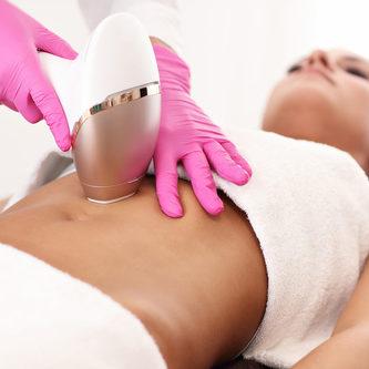 Abdomen laser hair removal