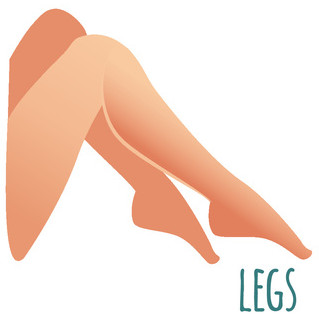 Female Full leg waxing