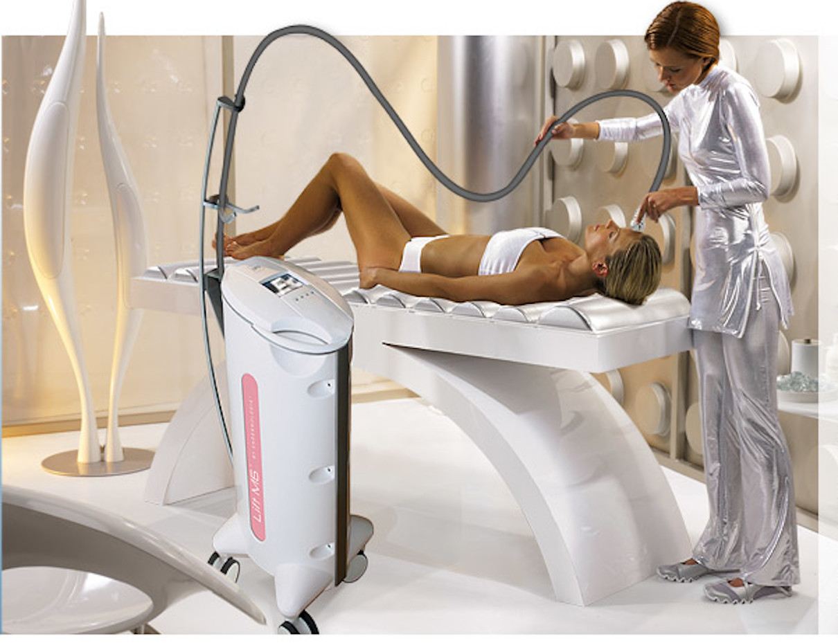 Liftmassage by Endermologie for ageing skin of face