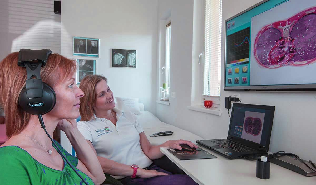 Oberon bioresonance scan