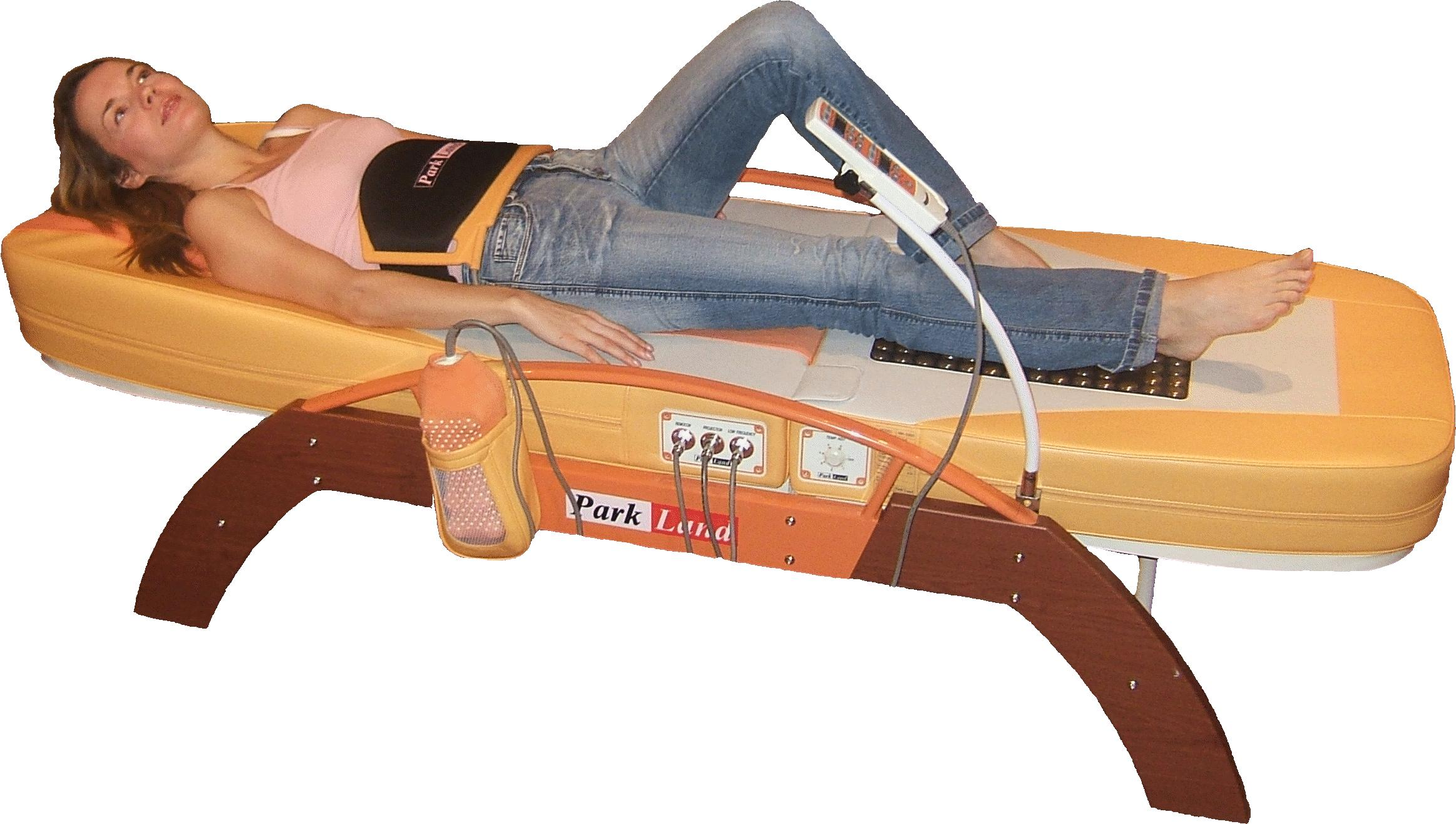 Benefits of the infra-red spine stretching bed