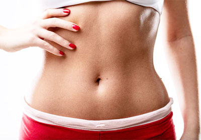 Flat-stomach-after-regular-use-herbal-colonics
