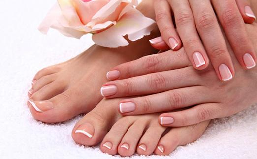 Manicure and pedicure in London
